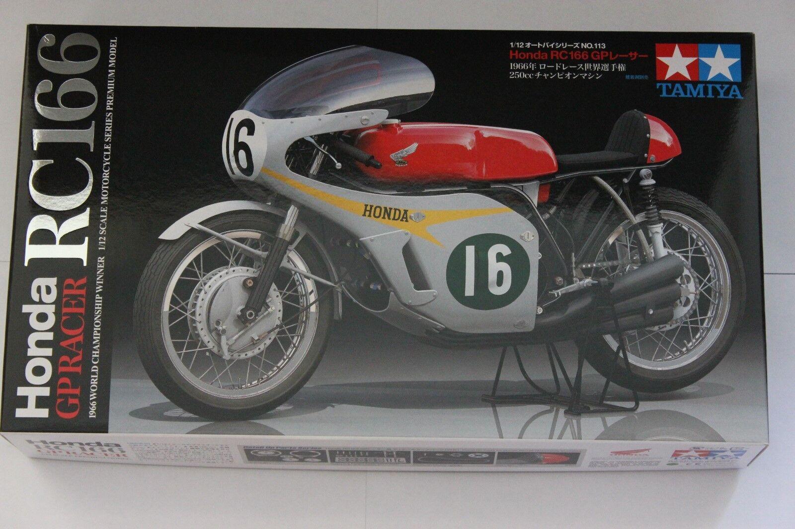 TAMIYA 14113 Honda RC166 50th Anniversary 1 12 Bike Model Kit