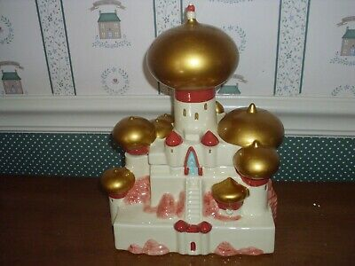 Disney- Aladin Sultans Palast Cookie Jar-new In Box-2019