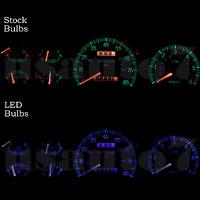 Dash Instrument Cluster Gauge Blue Leds Lights Kit Fits 87-91 Ford F150 F250
