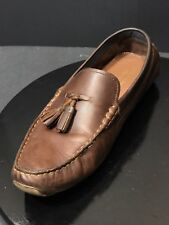 3bc1d1c1170 COLE HAAN Kelson Tassel Harvest Brown Leather Mens Loafer Size US 11 M