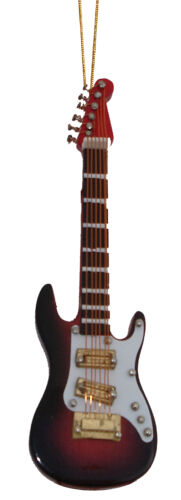 """Fender Electric Guitar replica handmade collectible hanging ornament 4/"""""""
