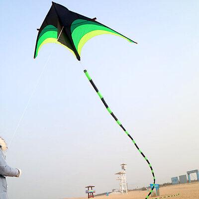 10m//32ft 3D Flying Kite Tube Tail UK Children Toy Outdoor Kites Accessories UK