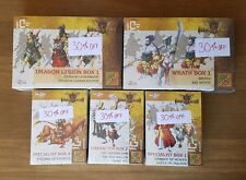 Wrath of Kings House Shael Han Lot of New, Sealed Miniatures Sets (5 boxes)