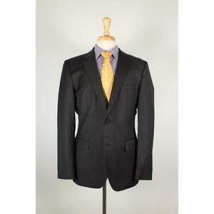 c52df3016 HUGO BOSS James/Sharp 40R Brown Wool 2B Mens Sport Coat Blazer Suit ...