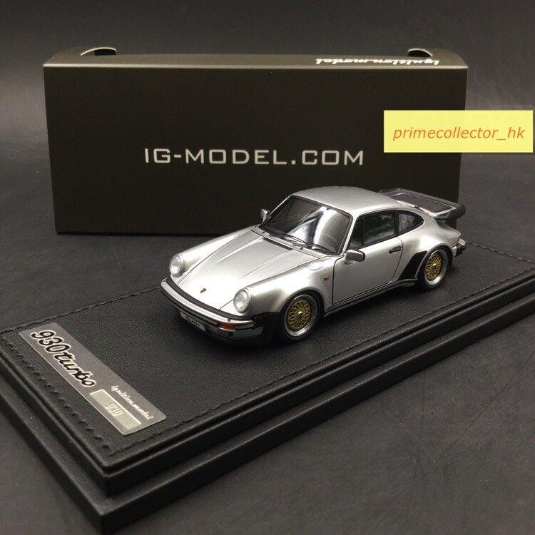 Ignition MODEL 1 43 PORSCHE 911 (930) Turbo Argent IG0942