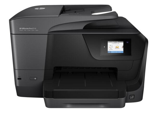 NEW HP OFFICEJET PRO 8710 INKJET - WIRELESS ALL-IN-ONE PRINTER
