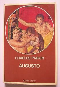 """PARAIN Charles """"Augusto. La nascita di un  potere personale"""" 1979"""