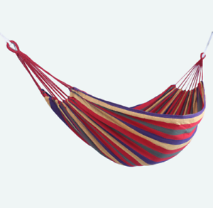 Portable Single Outdoor Camping Hammock Chair Hanging Bed Swing Carry Bag