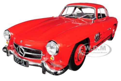 1955 MERCEDES BENZ 300 SL RED LTD 300 PCS 1/18 DIECAST CAR MINICHAMPS 110037211