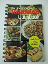 Family Favorites Hawaiian Cookbook Spiral Bound Howard Hansen