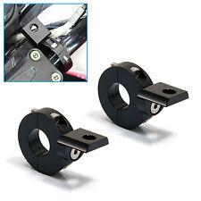 "Motorcycle Crash Bar Handlebar Mount CNC Spotlight Foglight Brackets 22mm 7/8"""