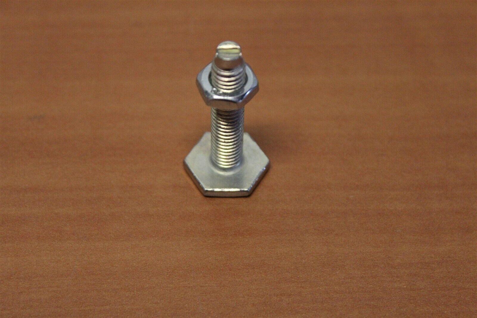 8020 T Slot Metric M8 Steel Economy Leveling Foot 65-2195 E2-01
