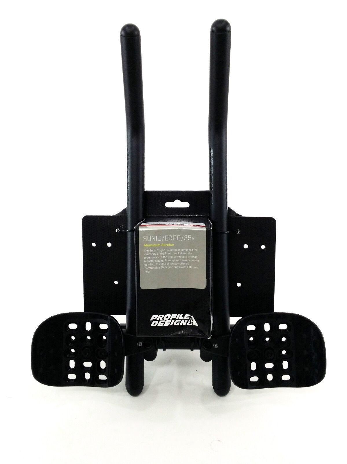 Perfil Sonic Ergo 35a Bicicleta de triatlón Design Aerobar