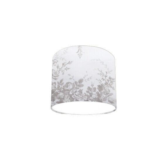 Lampe Plafond Pendentif Pendentif Pendentif Abat-jour fait avec Laura Ashley Tuileries Colombe Gris Papier Peint 261949