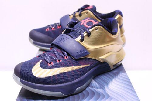 Zapatillas Air Vi Usado Tama deporte para Medallas 7 Rojo Nike hombres marino Durant Kd 10 o de Azul oro de PHwPd