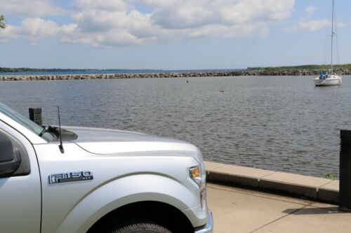 "01-05 Chrysler Sebring Coupe 9/"" Black Spring Stainless AM//FM Antenna Mast Fits"