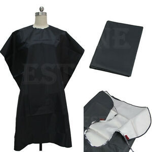 Adult-Salon-Hair-Cut-Hairdressing-Barbers-Hairdresser-Waterproof-Cape-Gown-Cloth