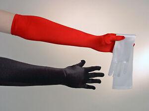 Satinhandschuhe-rot-Damenhandschuhe-lang-Karnevalhandschuhe