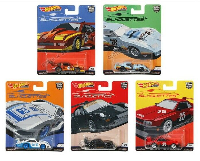 HOT WHEELS 2019 CAR CULTURE SILHOUETTES - FACTORY SEALED CASE 10 PC FPY86-956J