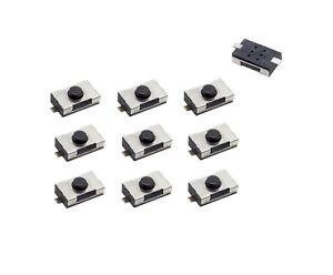 10x AMAKEY Mikroschalter für Autoschlüssel Fernbedienung Klappschlüssel | AMKM1