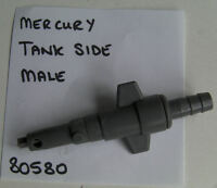 MERCURY MARINER OUTBOARD FUEL LINE CONNECTOR, MALE, OUR CODE PAT 80580