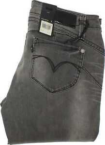 Levi-039-s-Demi-Curve-Damen-Grau-Skinny-amp-Slim-Stretch-Jeans-w30-l32-34221