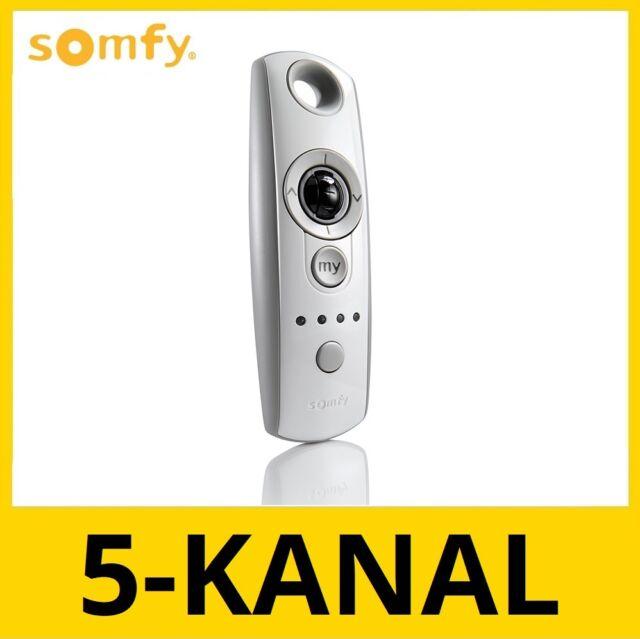 SOMFY Telis 4 Mod//Var RTS Pure Funkhandsender mit Scrollrad für Jalousien