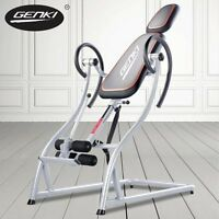 Steel Frame Inversion Gravity Table Genki Fitness Machine 4 Back Pain Relief