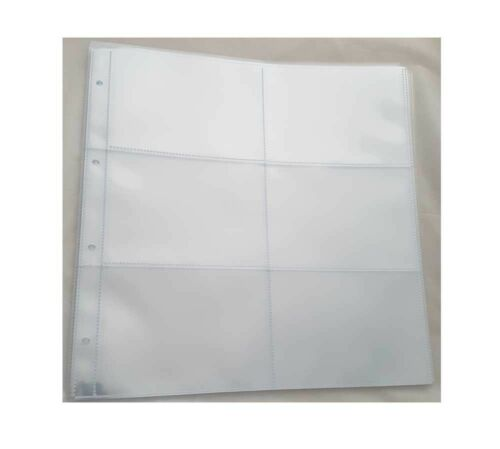 Large 6 up Postcard Album for storing and Displaying Postcards