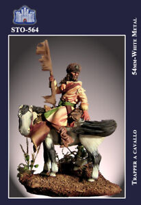 Ss La Fortezza 54 Mm - Trapper A Cavallo (xix Secolo) - Sto-564