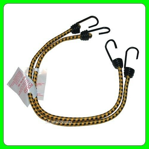 "A Par of  90 cm Luggage Elastics 928.02 36/"" Bungee Metal Hooks"
