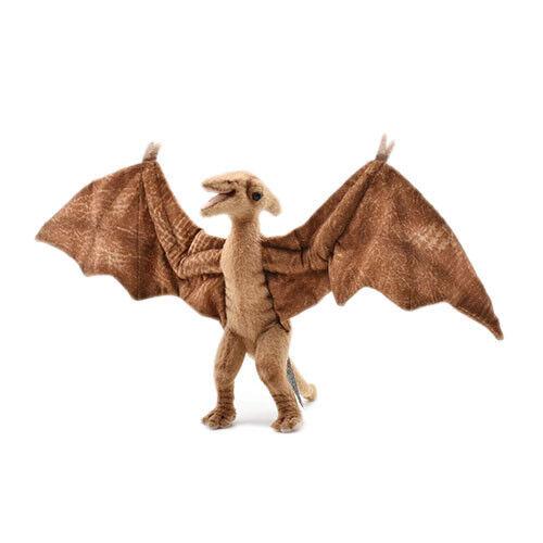 44cm Hansa Pterodáctilo Dinosaurio Hecho a Mano Lindo Suave Animales Peluche Realista