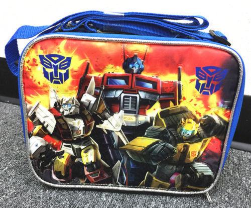 Transformers Lunch Box Produit Sous Licence Neuf Pour Garçons