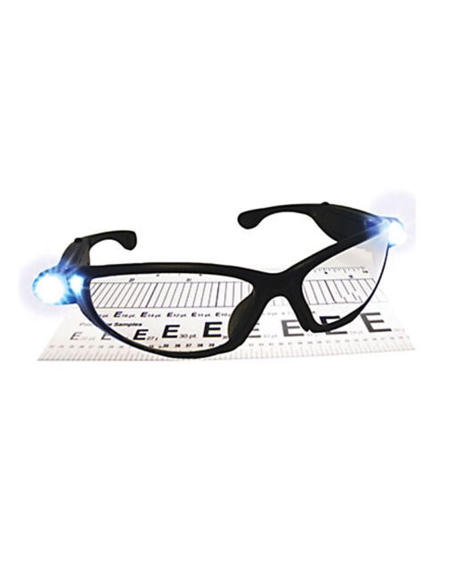 Magnifying Safety Glasses with LED Light SAS Safety Corp Lightcrafters 5420-15
