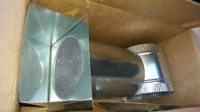 BROAN-NUTONE BD6 PRESSURE RELIEF DAMPER W/ WALL CAP & 6 COLLAR