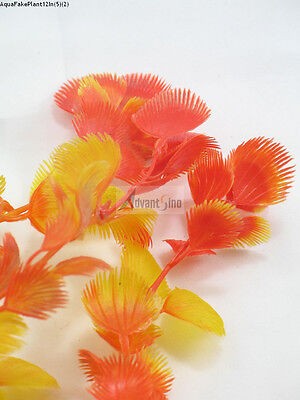 "(S05) 12"" Long Realistic Artificial Plants for Aquarium/ Fish Tank(SHIP FROM US)"