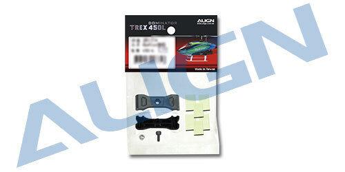 Align T-Rex 450L Tailboom Support Rods Reinforcement Plates Set H45T008XXT