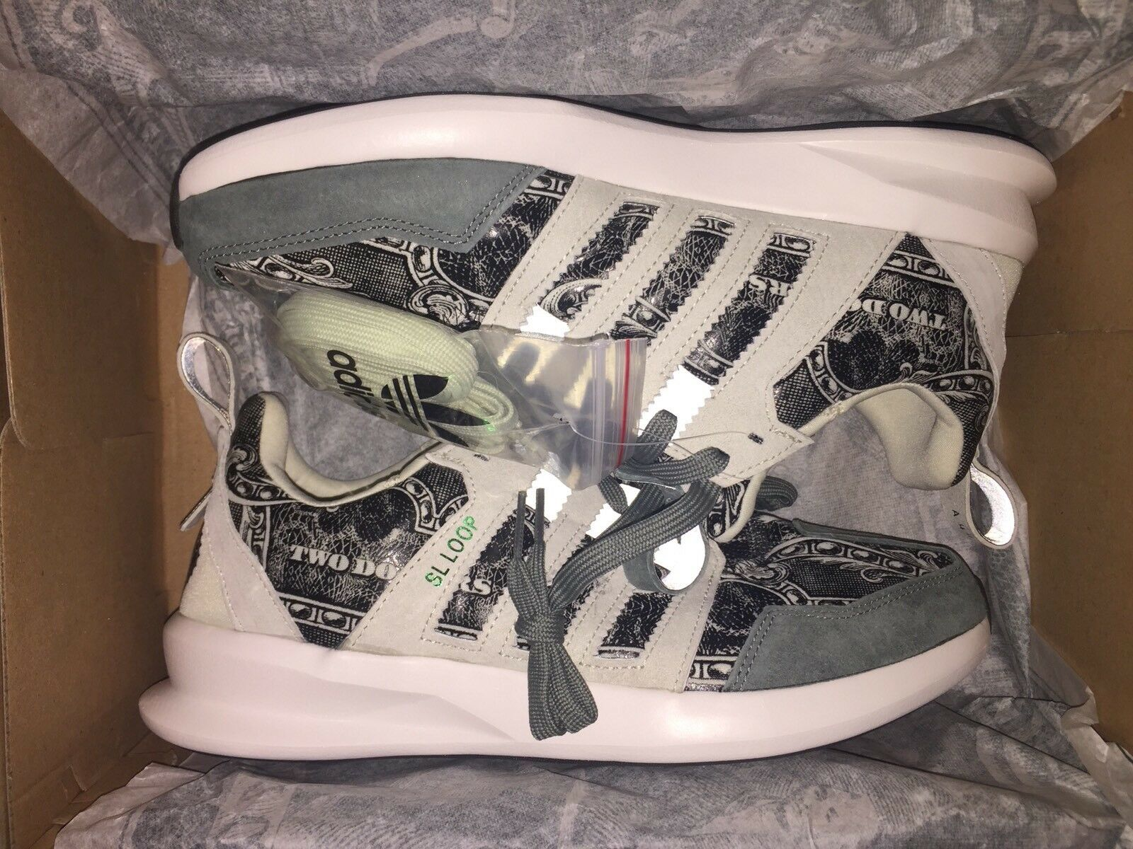 Adidas Sl Loop Runner x Wish ATL Independent Currency Mens Comfortable