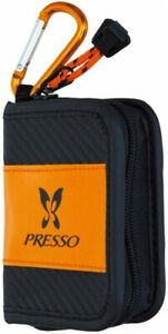 Presso-Wallet-C-Size-S-Orange-Fly-Fishing-Spoon-Lure-Case-Pouch-Holder-DAIWA