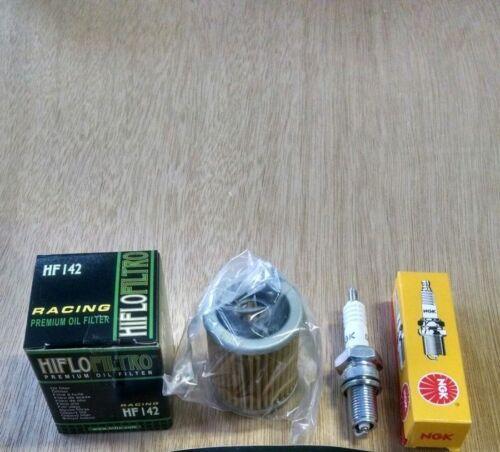 Yamaha Tune up kit Spark Plug Oil Filter Kodiak 400 YFM400 YFM 94-99 4x4 D8EA