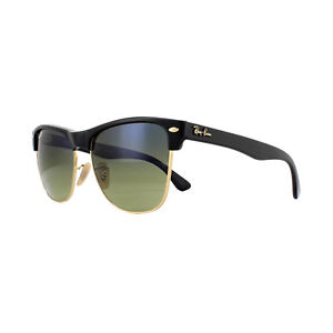 dfcce4a0e2 Ray-Ban Sunglasses Clubmaster Oversized 4175 877 76 Black Blue Green ...