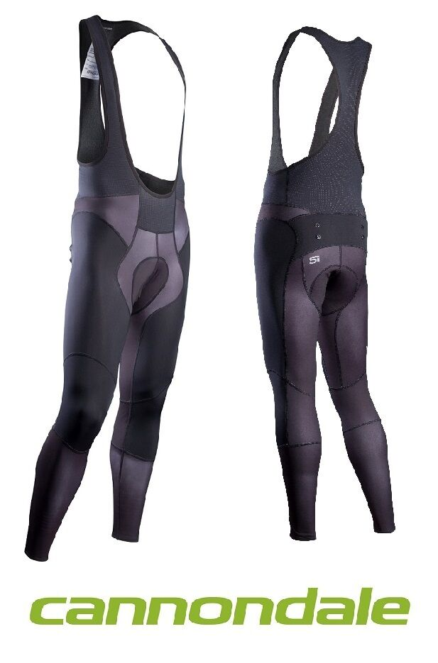 Cannondale Elite 1 thermal Bib tights Cuissard long 5m246 neuf prix spécial