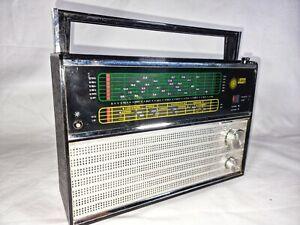 Rare Vintage Retro Vega VEF-206 Soviet Transistor Radio 70's Fully Working