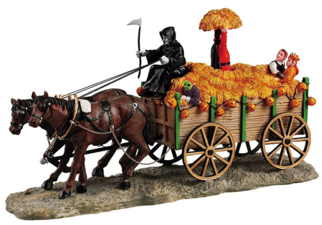 HAUNTED HAYRIDE #53530 LEMAX SPOOKY TOWN COLLECTION