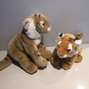 ARK Toys Premier Collection Tigre seduta morbido peluche giocattolo Natura PIANETA Peluche