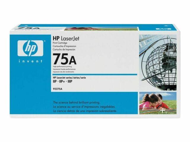 Genuine HP 75A / 92275A LaserJet Print Cartridge IIP / IIIP Series Black 3D49C48