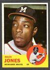1963 Topps #137 Mack Jones Braves NM
