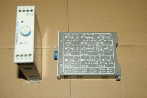 Time delay relay 24v e21-f09 fiber