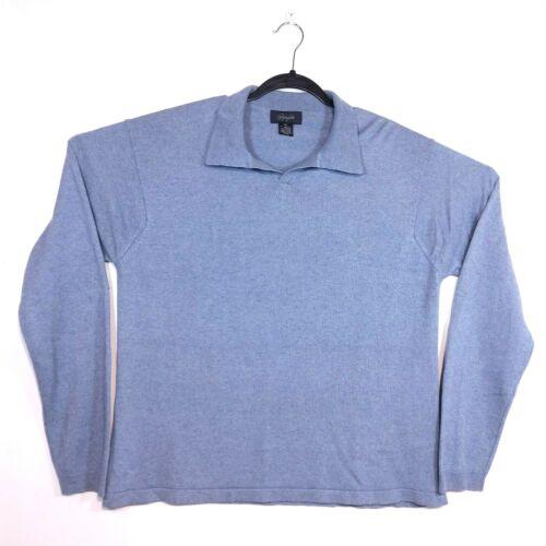 Christopher Fischer Men Gray Sweater XXL Silk Cash