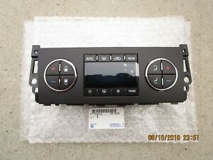 03-04 CHEVY SILVERADO A//C HEATER CLIMATE TEMPERATURE CONTROL OEM NEW